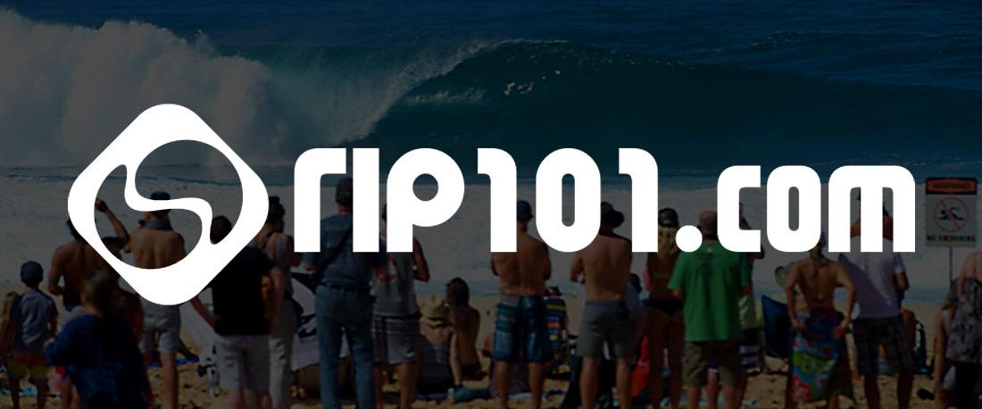 Rip101 Guernsey Logo Design