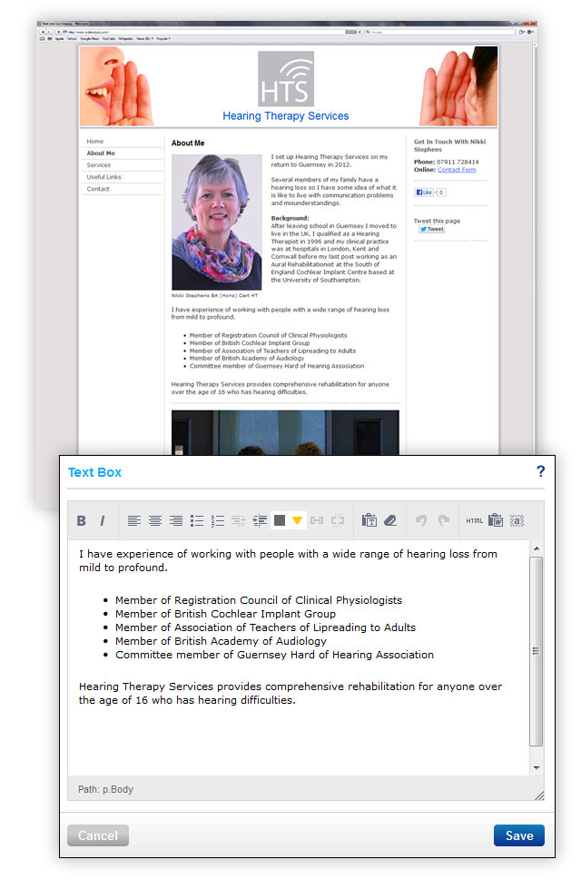 Content Management System For Guernsey Websites