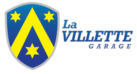 La Villette Garage Logo Design