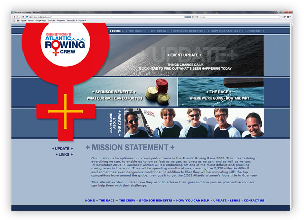 Mission Atlantic Rowing Website