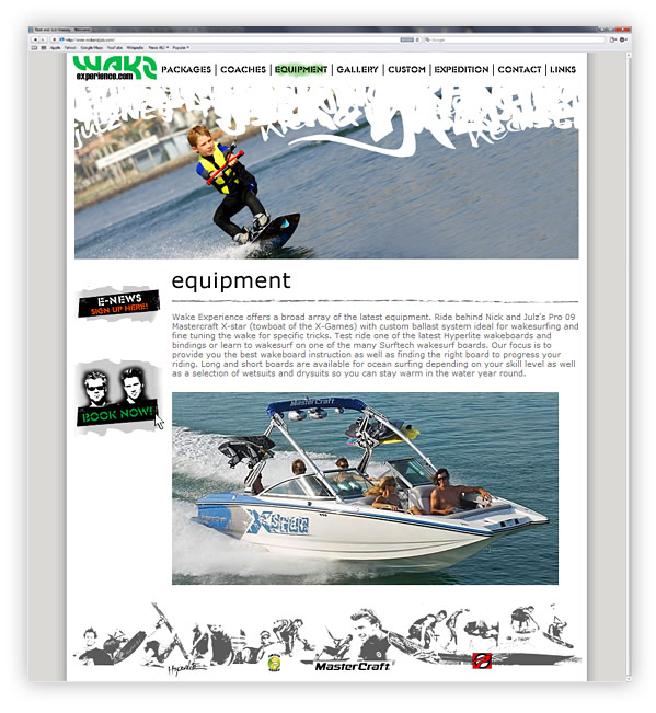 Wake Experience Website