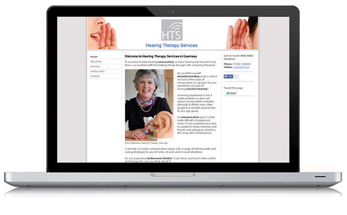 Hearing Therapy Services Website