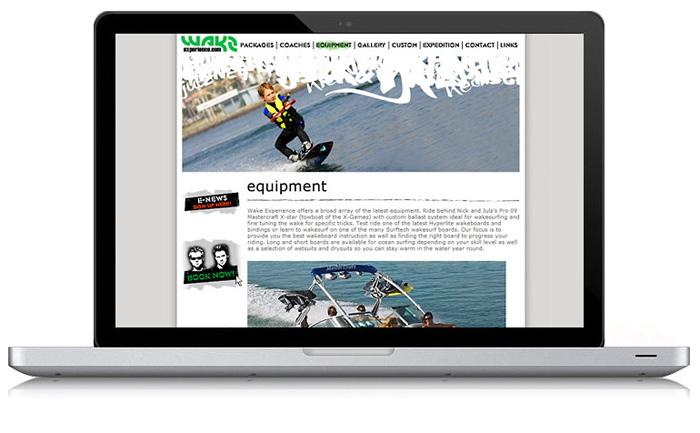Wake Experience Website