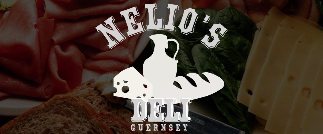 Nelios Deli Guernsey Logo Design