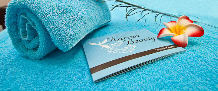 Karma Beauty Guernsey Website Design