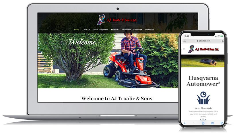 AJ Troalics Guernsey Web Design