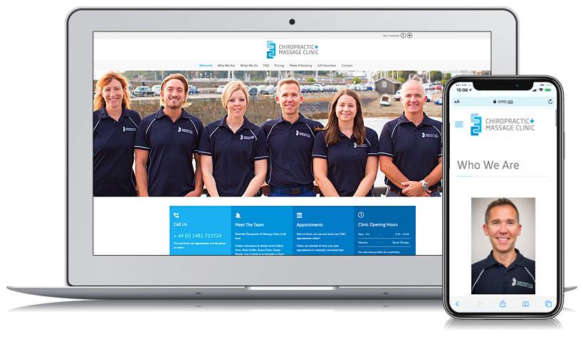 CMC Guernsey Web Design