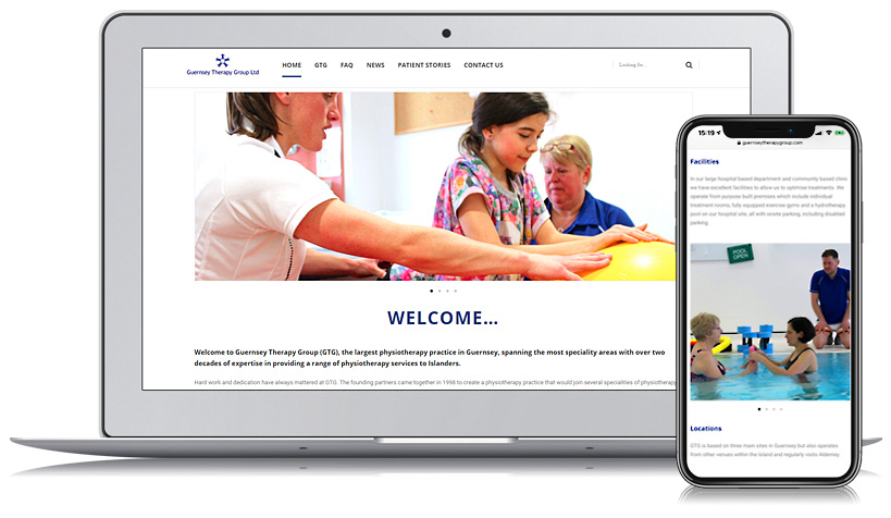 Guernsey Therapy Group Web Design