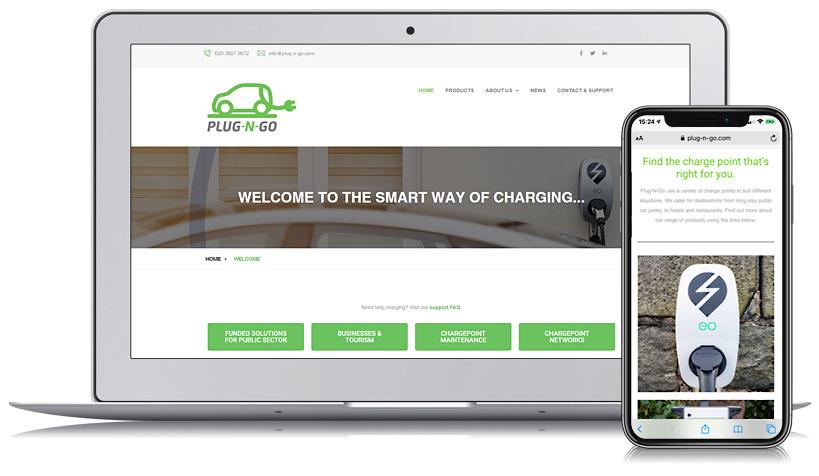 Plug-N-Go Guernsey Web Design