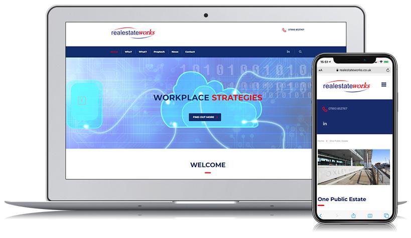 RealEstateWorks Guernsey Web Design