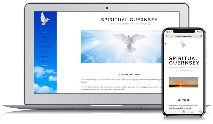 Spiritual Guernsey Web Design