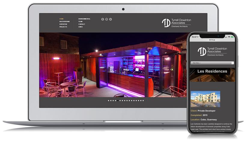 TDA Guernsey Web Design