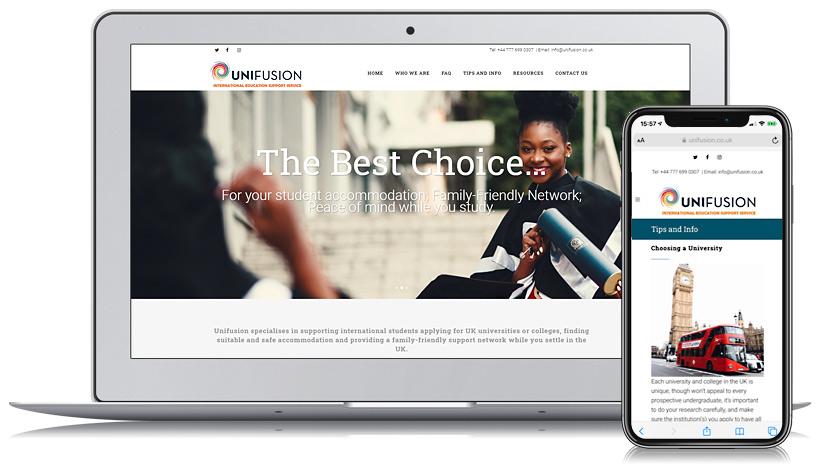 Unifusion Web Design